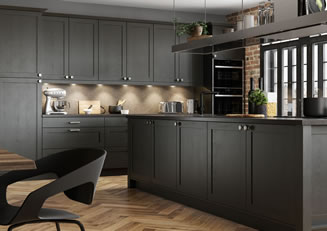 Mya Kitchens Aldana Graphite Link image Stafford