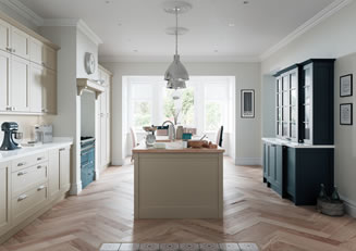 mya Kitchens Shropshire Kelso Stained Truffle Grey & Zola Matte Graphite link image