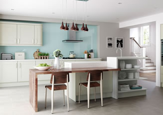 Mya Kitchens Windsor Shaker Mussel Link image Stafford