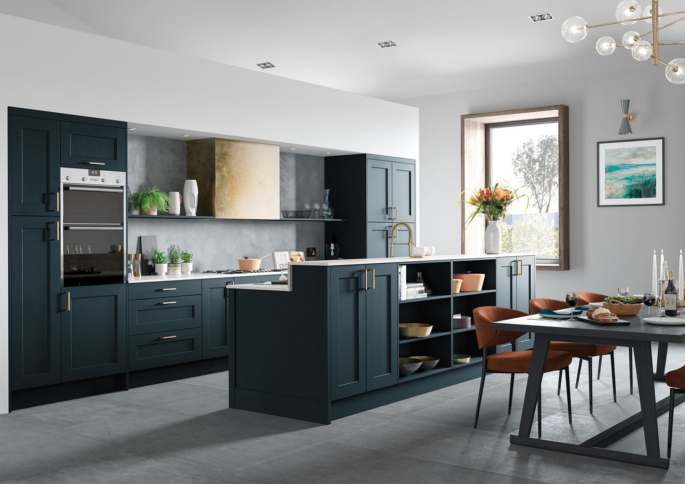 Mya Wakefield Marine Main Shot Kitchens Staffordshire