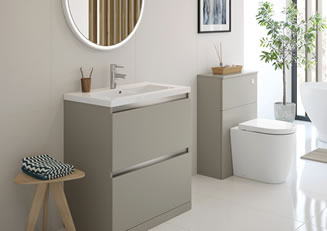 Mya Bathrooms Shropshire Carino Latte Link image