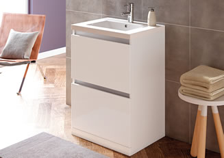 Mya Bathrooms Shropshire Carino White Gloss Link image