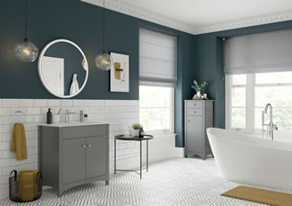 Mya Bathrooms Telford Lucia Grey Ash Link image