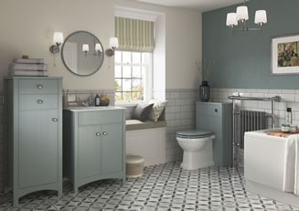 Mya Bathrooms Telford Lucia Sea Green Ash Link image