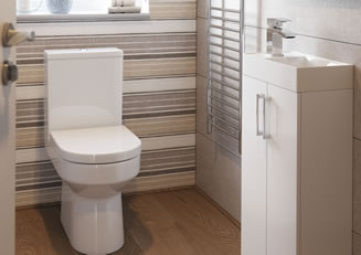 Mya Bathrooms Telford Volta White Gloss Link image