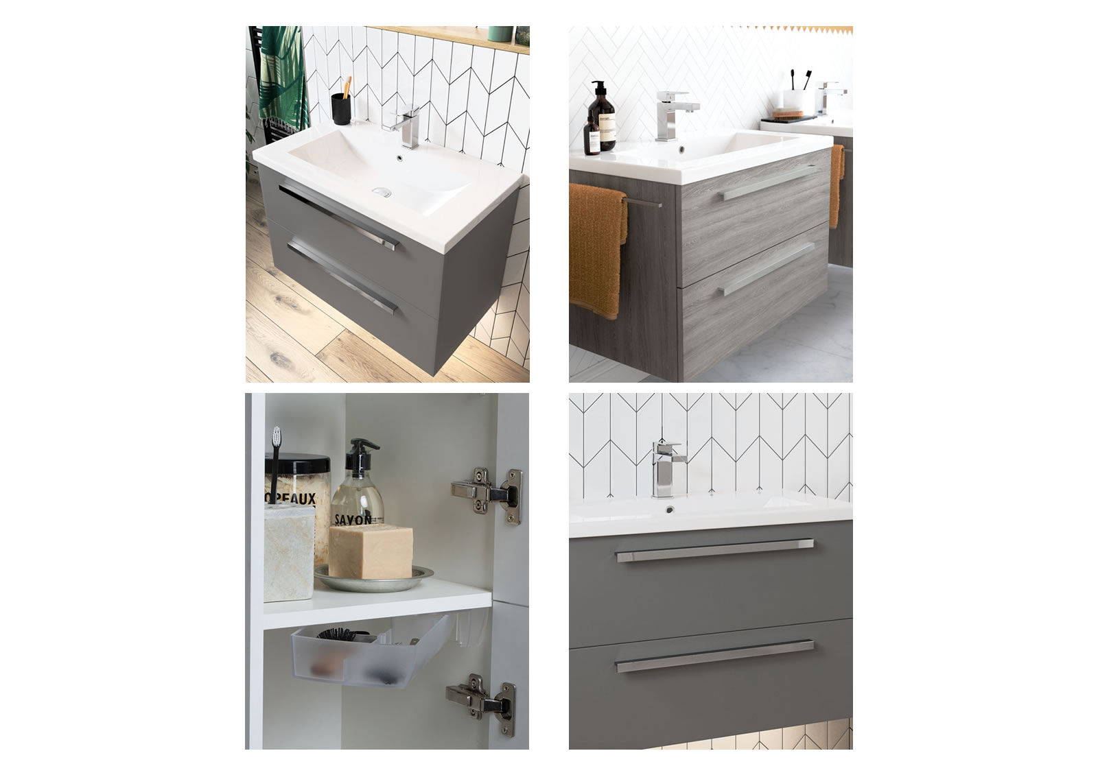 Mya Fitted Bathrooms Morina Elm Grey Detail Photograph