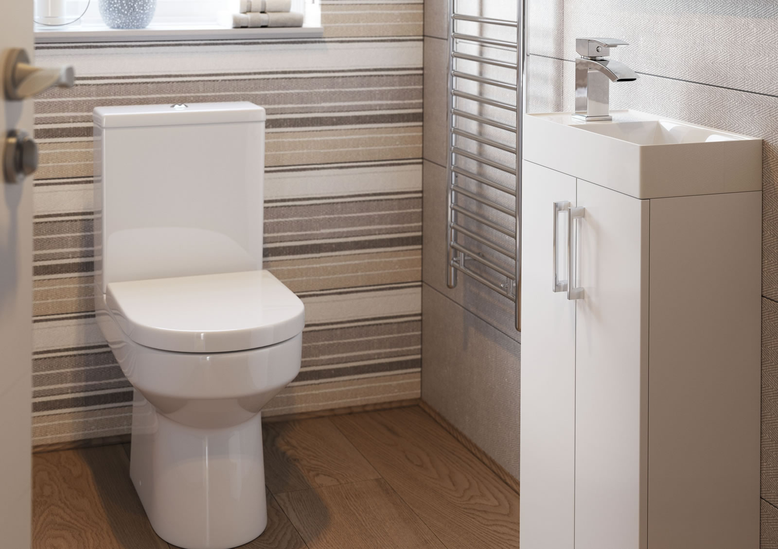 Mya Fitted Bathrooms Volta White Gloss Main Photograph
